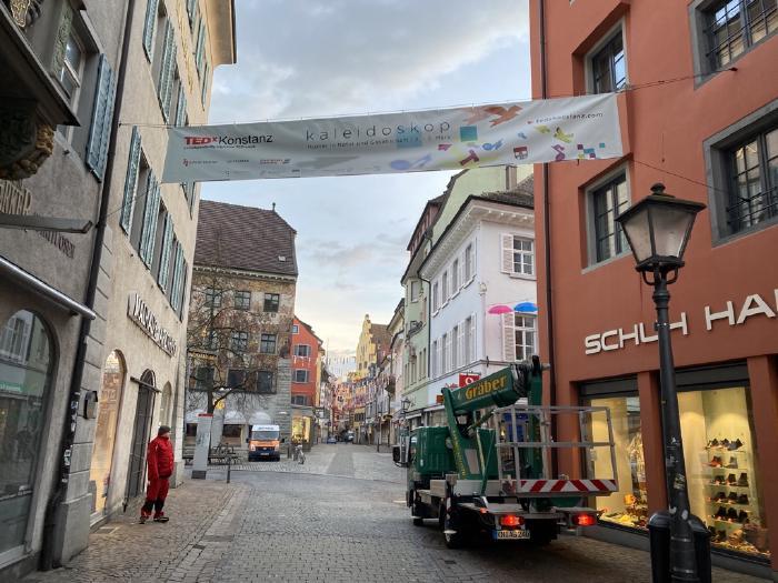 Banner in the Konstanz Altstadt