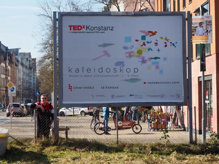 Billboard on Jahnstraße